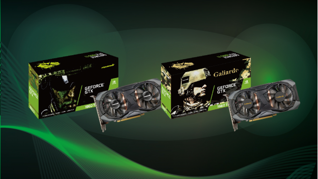 Manli GeForce® GTX 1660 Ti with Twin Cooler